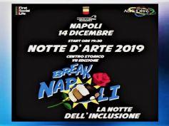 Napoli, pronta la Notte d'Arte, l'impegno di Abili Oltre e First Social Life