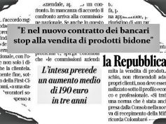 Colombani a Repubblica, con contratto rapporto virtuoso banche risparmiatori