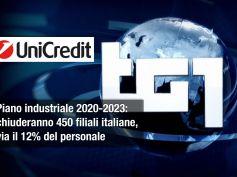 Tg1 su piano UniCredit, Incletolli, pensare a sviluppo Paese non solo azionisti