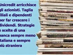 Il piano industriale UniCredit visto dai giornali e la posizione di First Cisl