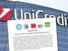 UniCredit, sindacati, con questi presupposti nessuna trattativa
