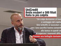 UniCredit, Colombani, no al piano, battaglia durissima sugli esuberi