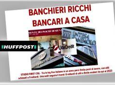 Piano UniCredit, Huffpost riprende studio First Cisl maggiori banche italiane