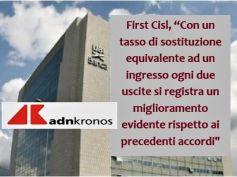 AdnKronos, First Cisl, Ubi accordo ok, entrano 150 dipendenti e lasciano in 300