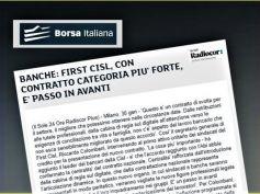 Borsa Italiana, Colombani, accordo con Abi ha confermato centralità Ccnl