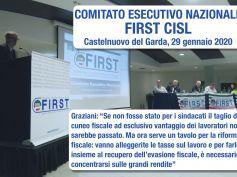 Esecutivo First Cisl, Graziani, la stagione della mobilitazione non è finita