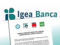 Banca Igea, manifestazione a Palermo contro i licenziamenti
