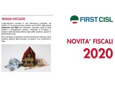 Novità sulle agevolazioni fiscali 2020