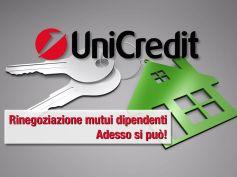 UniCredit, rinegoziazione mutui dipendenti, adesso si può