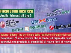 Banche Big 5, calano le svalutazioni, così volano i bilanci