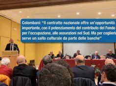 Contratto, Colombani, opportunità anche per il Sud