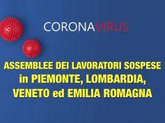 Coronavirus, assemblee sospese anche in Emilia Romagna e Piemonte