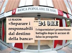 PopBari in cronaca, First Cisl, interesse salvare banca, dipendenti e risparmio