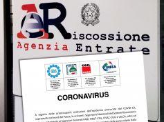 Coronavirus, Riscossione tributi, comunicato unitario dei sindacati