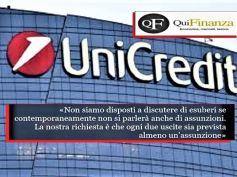 QuiFinanza, First Cisl su UniCredit, trattiamo di esuberi solo con assunzioni