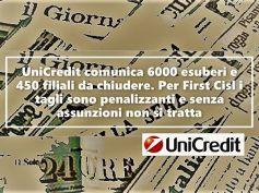 I grandi giornali sul piano industriale UniCredit e la reazione di First Cisl