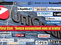 Piano UniCredit, il web diffonde la ferma presa di posizione di First Cisl