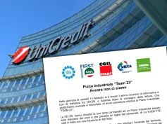 UniCredit, i sindacati sul piano industriale Team23, ancora non ci siamo