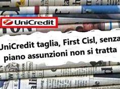Team23 UniCredit scuote territori, effetti e posizione First Cisl sui giornali