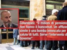 Coronavirus, Colombani, no a corsa in banca per le pensioni, Governo intervenga