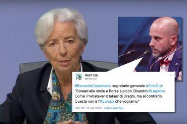 Colombani su Lagarde, questa non è l'Europa che vogliamo