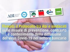 Coronavirus, Protocollo Abi sindacati per la sicurezza nel settore bancario