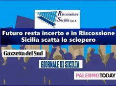 Riscossione Sicilia, 700 dipendenti scioperano per difendere il posto di lavoro