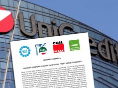 UniCredit, sindacati, domani valuteremo prosecuzione confronto