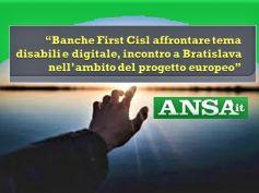 Progetto europeo First Cisl, disabilità è opportunità, non obbligo giuridico