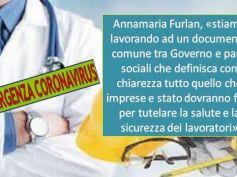 Confronto Governo, Annamaria Furlan, lavoriamo a documento salute lavoratori