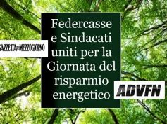 Federcasse e sindacati insieme per buone pratiche di sostenibilità ambientale