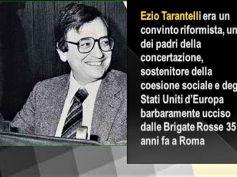 35 anni fa l'assassinio di Ezio Tarantelli, un uomo mite aperto al dialogo