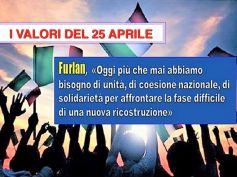 25 aprile in tempi di Covid, Furlan, oggi più che mai serve coesione nazionale