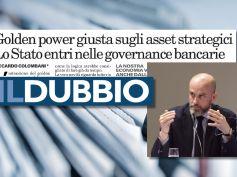 Colombani sul Dubbio, lo Stato entri nella governance delle banche