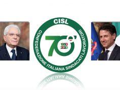 70 anni, gli auguri alla Cisl dal Presidente Mattarella e dal Presidente Conte