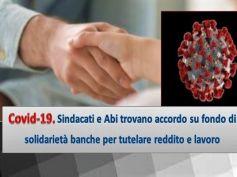 Intesa Abi sindacati, fondo solidarietà banche per gestire effetti Coronavirus