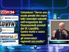 DL Liquidità, Colombani, serve scudo penale e osservatori regionali sul credito