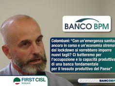 Banco Bpm, Colombani, non è il momento di tagli, no a chiusura di altre filiali