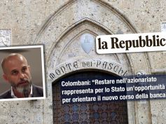 Colombani su Repubblica invita il neo cda Mps a scrivere una nuova storia