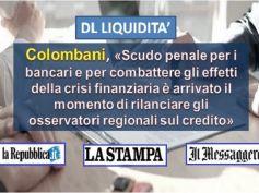 DL Liquidità, scudo penale necessario, così bancari liberi da incubo sanzioni