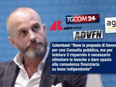 Colombani, d'accordo con Savona su tutela risparmio, ma consulenza sia indipendente