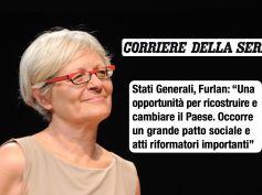 Stati Generali, intervista Corsera a Furlan, serve patto sociale stile Ciampi nel 93