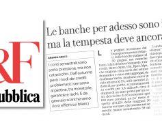 Covid, come stanno le banche italiane tra studio First Cisl e analisi di Repubblica