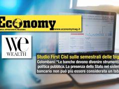 Semestrali prime 5 banche italiane, ancora interesse per lo studio di First Cisl