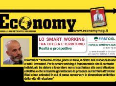 Gli effetti dello smart working, la stampa rilancia l'evento First Cisl di domani