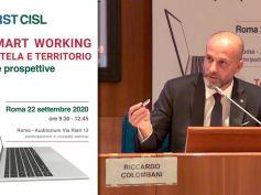 Smart working, Riccardo Colombani, va gestito con la contrattazione, il video