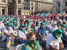 'Ripartire dal lavoro', migliaia nelle piazze. Furlan, un patto sociale per il paese