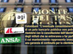 Sulle agenzie Colombani risponde a Ruocco, spezzatino non è buona ricetta per Mps