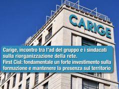 Carige, First Cisl, nella nuova organizzazione competenze centrali