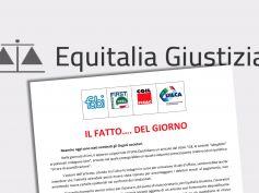 I sindacati a difesa della dignità dei lavoratori di Equitalia Giustizia
